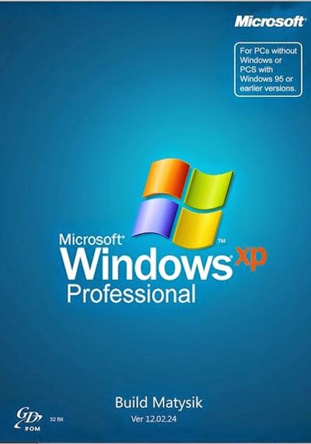 WINDOWS XP PROFESSIONAL SP3 + SERIAL