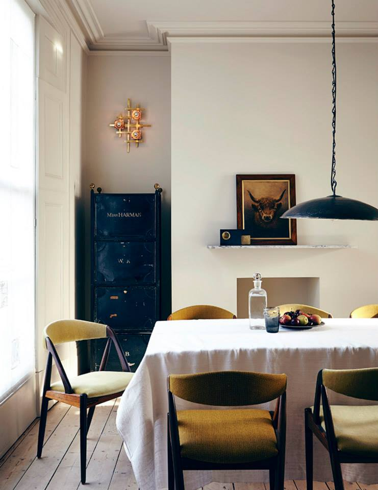 In The Dining Room There Are Mid Century Chairs By Kai Kristiansen