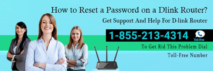 Reset a Password on a D-Link Router