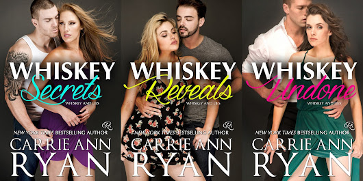 Whiskey and Lies Series by Carrie Ann Ryan #CoverReveal #Romance #FirstLook #ComingSoon