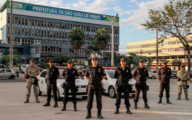 Guardas Civis Municipais de todo o estado do Rio de Janeiro se reúnem em São João de Meriti