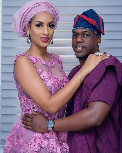 Juliet Ibrahim and Ice Berg Slim are married