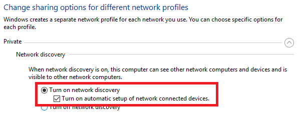 How do I make my computer accessible on a network?