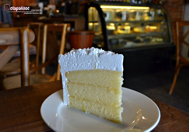 Lemon Cake Slice from Epic Cafe