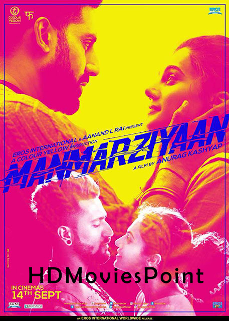 Manmarziyaan 2018 Full Movie Download Hindi HD Free 720p
