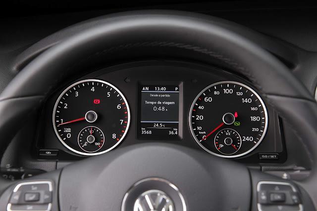 VW Tiguan 1.4 TSI DSG-6 - cluster de instrumentos