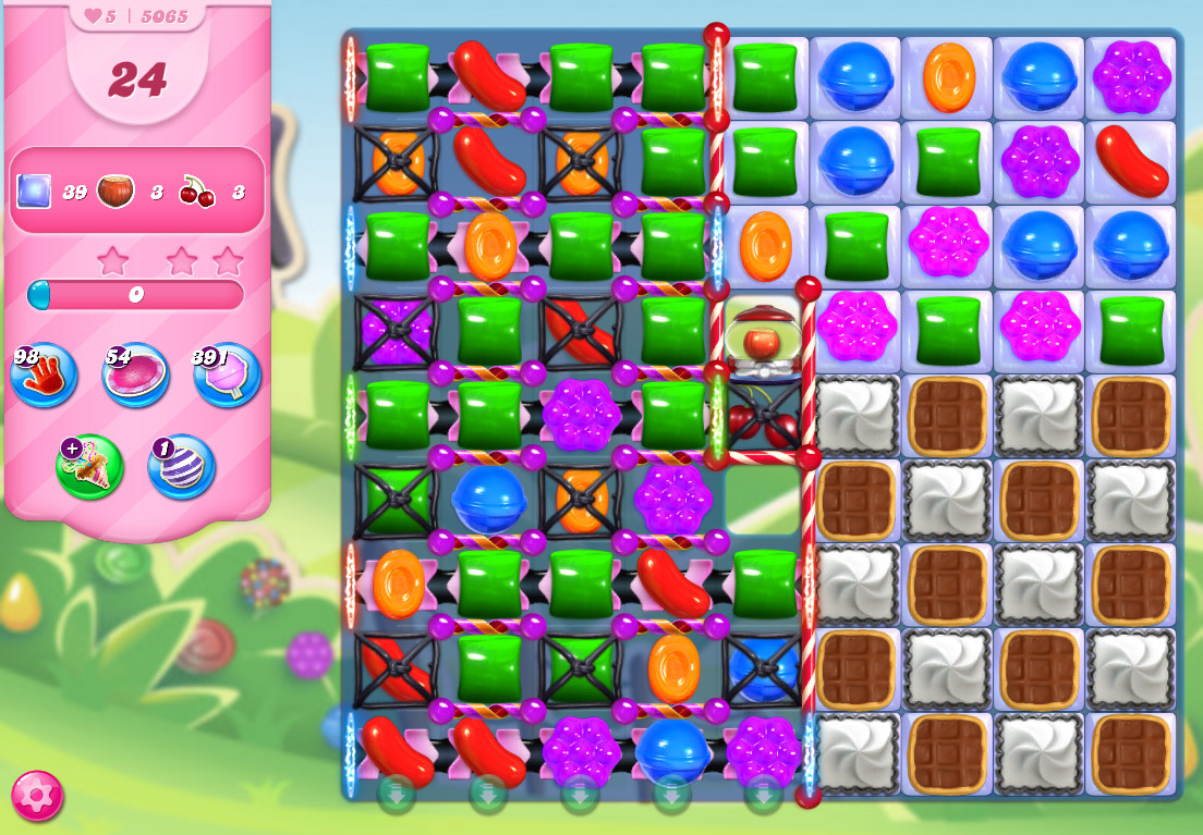 Candy Crush Saga level 5065