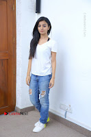 Telugu Actress Mahima Makwana Exclusive Stills in Blue Denim Jeans  0153.JPG