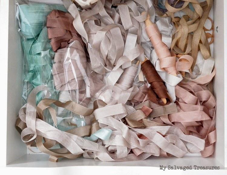 silk ribbon drawer