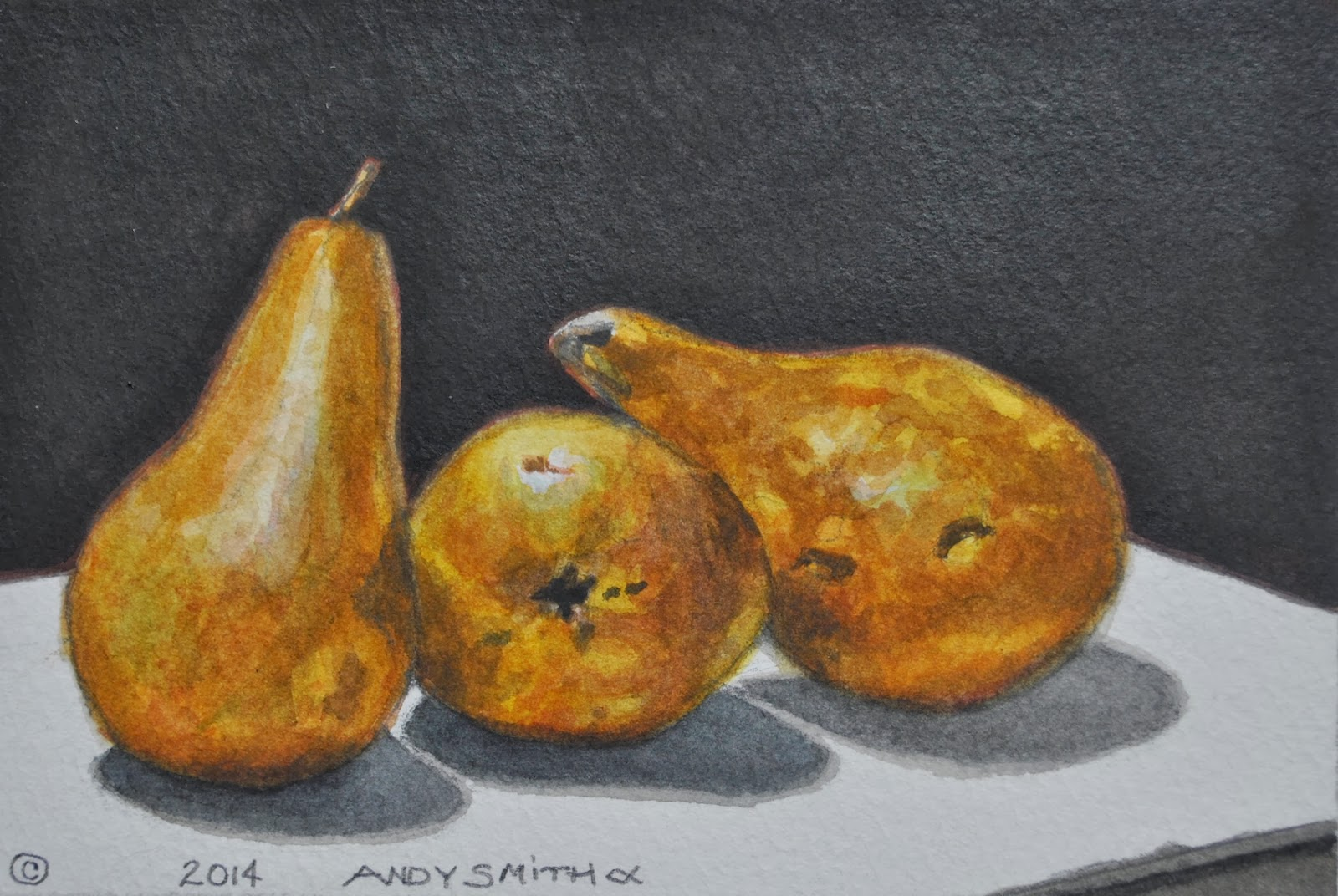 A Painting A Day Blog Andy Smith 1 1 14 2 1 14