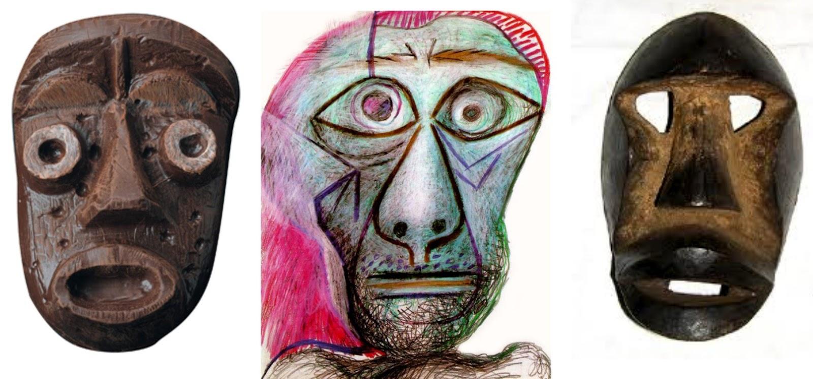 masque africain artiste