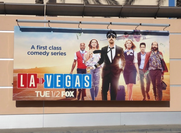 LA to Vegas series premiere billboard