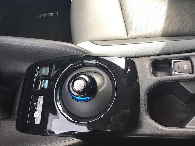 Nissan Leaf gearbox
