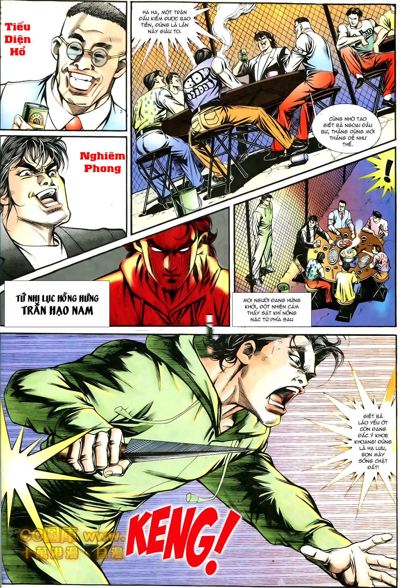 Người Trong Giang Hồ chapter 197: quạ đen báo thù trang 2