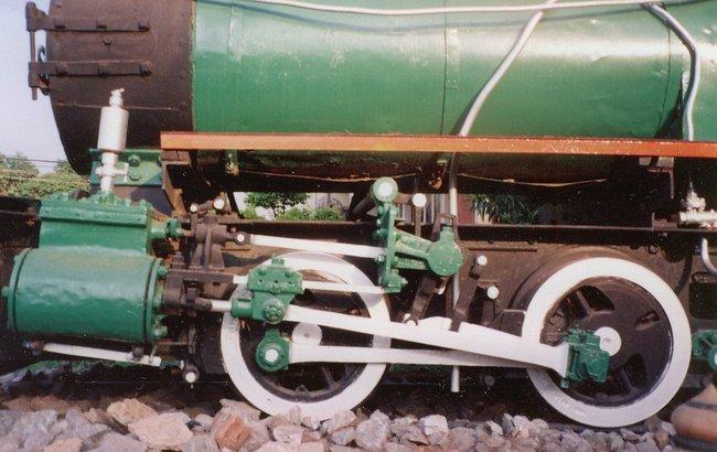 Паровой двигатель паровоза