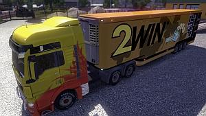 TZ Aero Dynamic 2win trailer