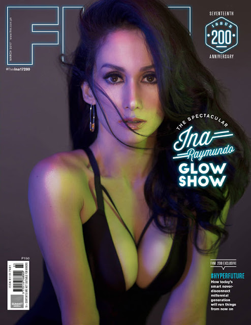 Ina Raymundo FHM March 2017 Cover Free Download