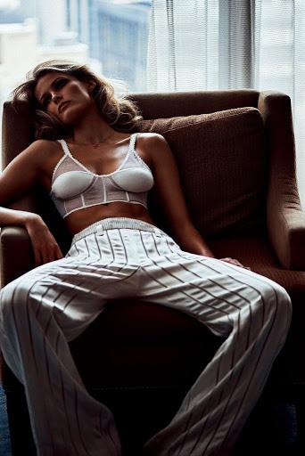 Edita Vilkeviciute sexy photo shoot Vogue Japan Magazine