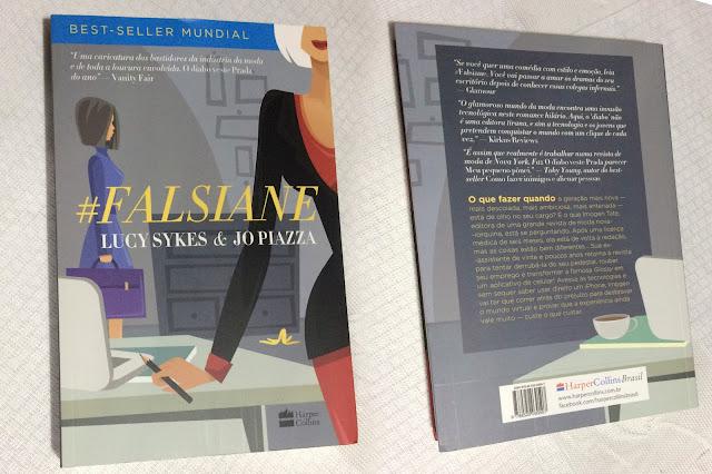 #FALSIANE - Lucy Sykes & Jo Piazza - Valor: R$:7,00 - Editora: Harper Collins