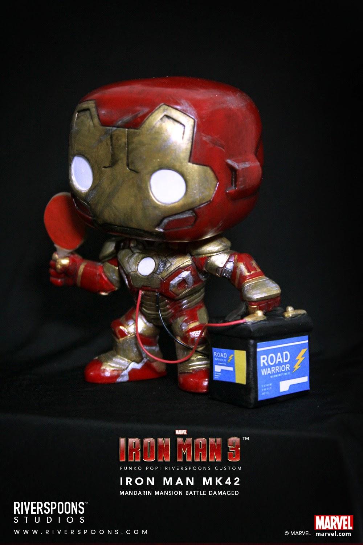 Riverspoons Studios Riverspoons Funko Pop Iron Man Mark