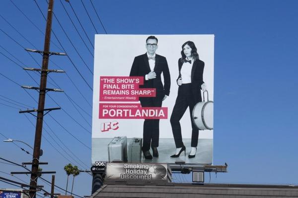 Portlandia 2018 Emmy FYC billboard