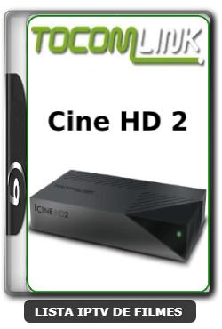 Tocomlink Cine HD 2 Nova Atualização Satélite SKS Keys 61w ON V1.37 - 01/04/2020