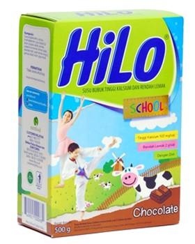 Harga susu Hilo School