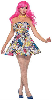 Pop Art Adult Costume