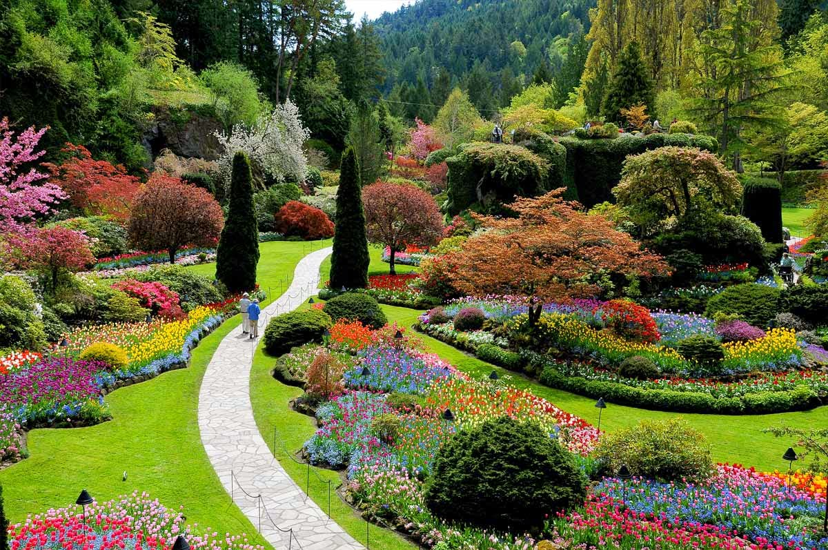 Descubre tu mundo destino los preciosos jardines for Jardines de primavera