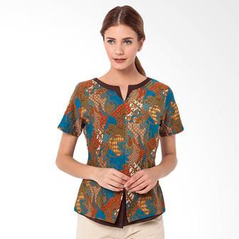 Model Batik Blus Yang Modis Dan Terbaru