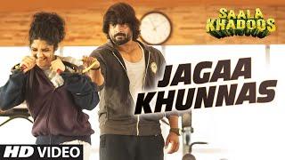 JAGAA KHUNNAS Video Song _ SAALA KHADOOS _ R. Madhavan, Ritika Singh _ T-Series