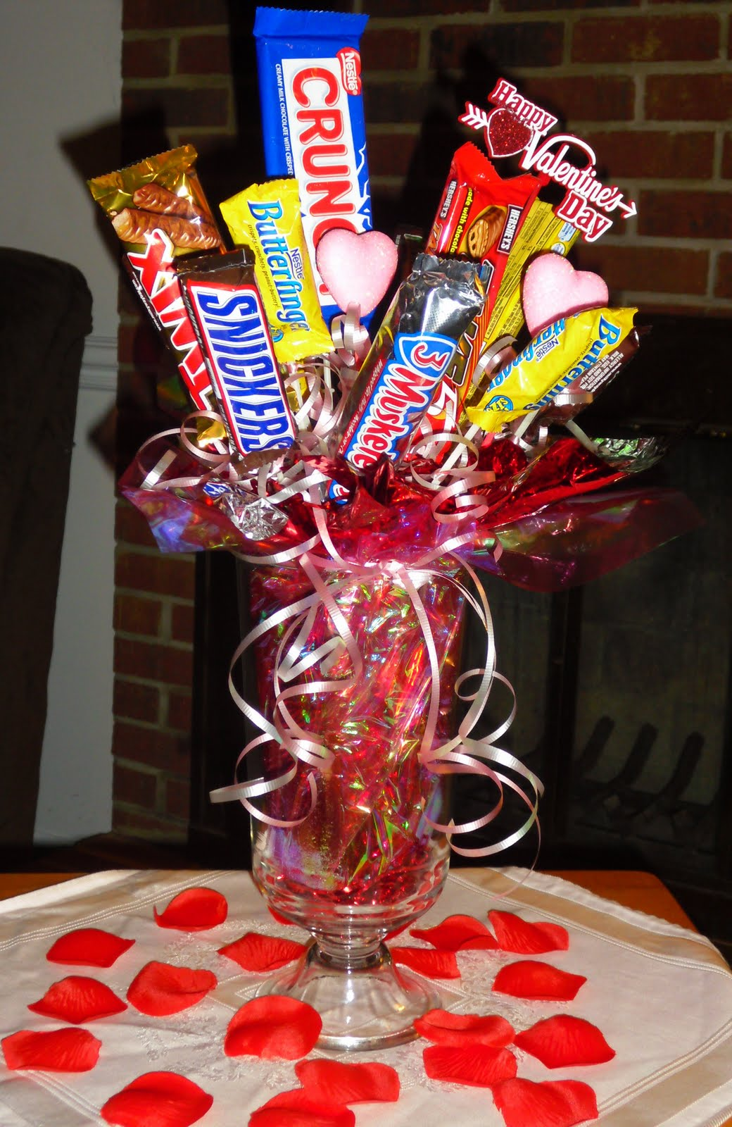 Made Out Candy Centerpieces
