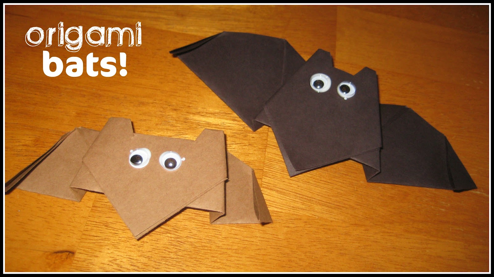 Relentlessly Fun Deceptively Educational Origami Bats