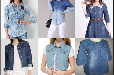aneka jacket dan kemeja jeans untuk tampil keren
