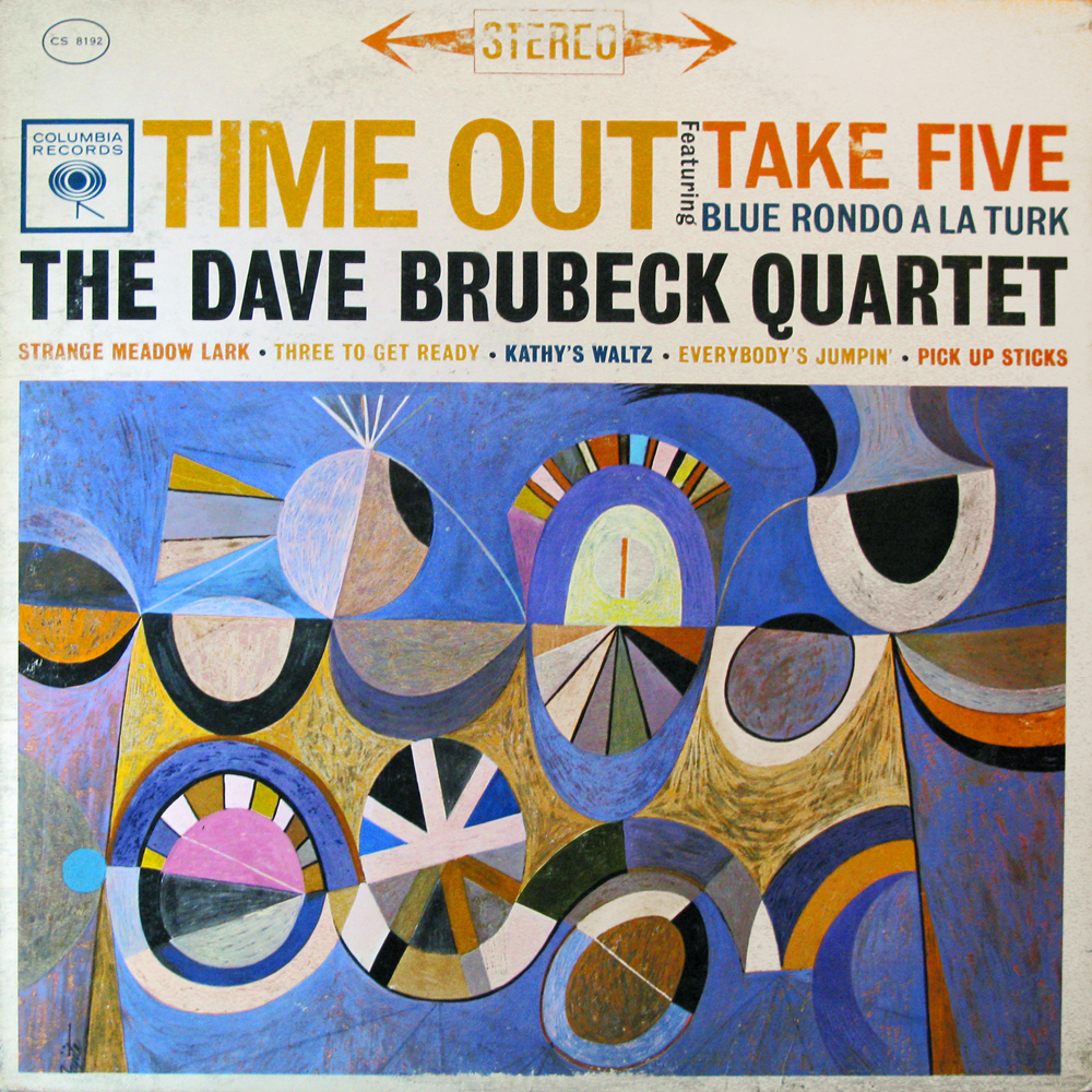 Vinyl2496 Dave Brubeck Time Out 1959 2496 Lp