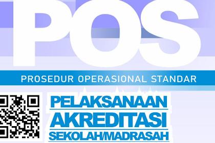 Download POS Akreditasi Sekolah - Madrasah Tahun 2019