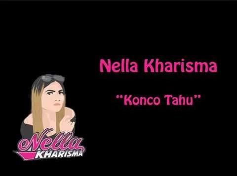 Lirik Lagu Konco Tahu Nella Kharisma Asli dan Lengkap Free Lyrics Song