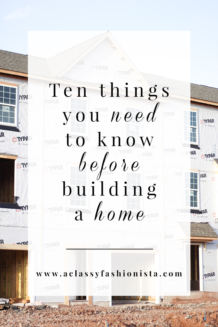 Ten things you need to know before building a home a - Things to know when building a house ...