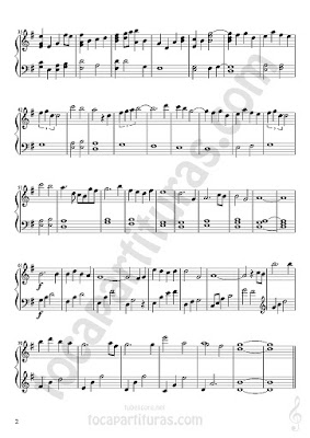 2 Lo Imposible Partitura de Piano Sheet Music for Pianists BSO/OST