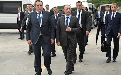 Vladimir Putin visited Nizhne-Bureiskaya Hydroelectric Power Plant.