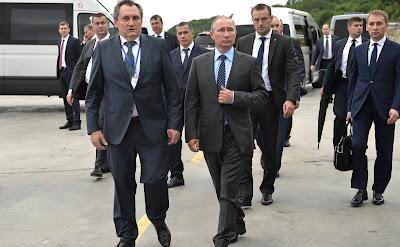 Vladimir Putin visited Nizhne-Bureiskaya Hydroelectric Power Plant.
