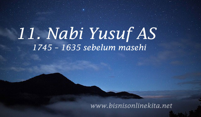nabi yusuf as nama nama nabi
