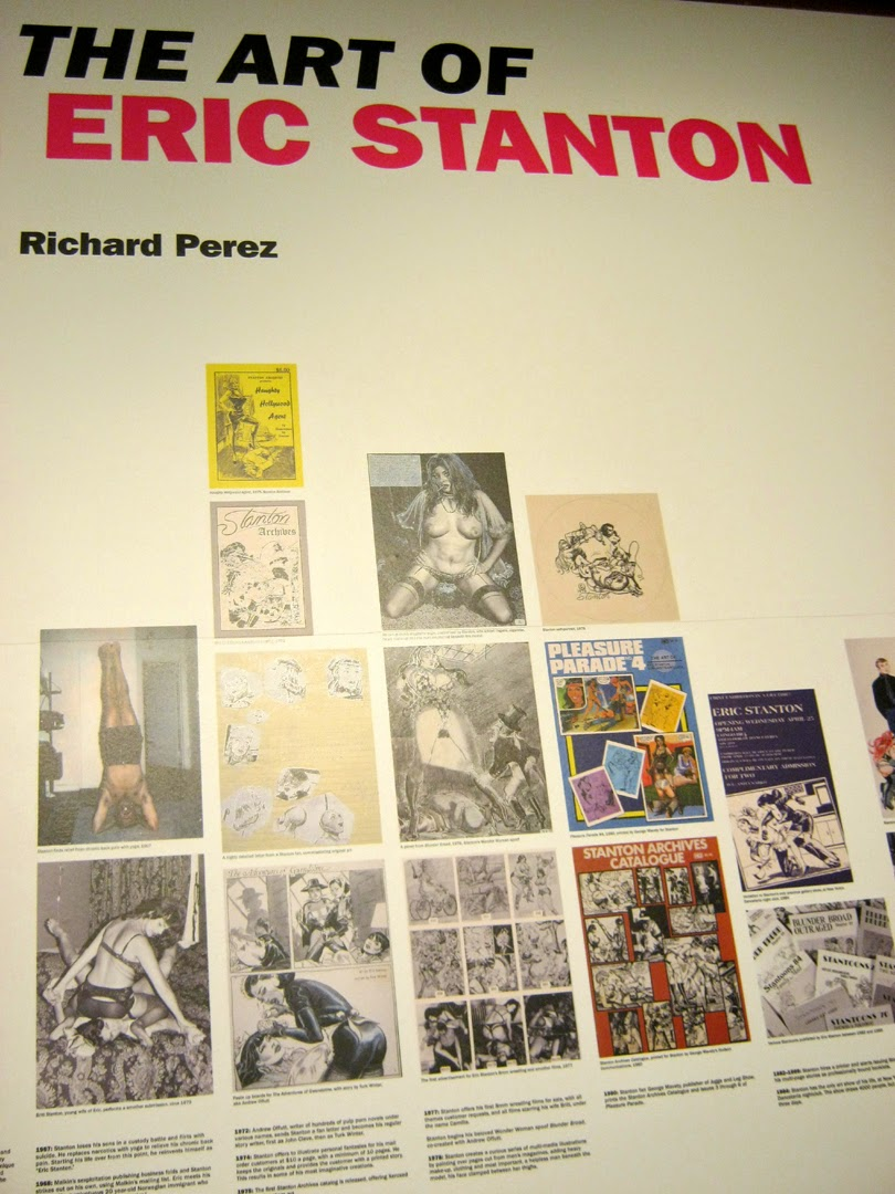 Eric Stanton Timeline By Richard Perez at the Taschen Gallery
