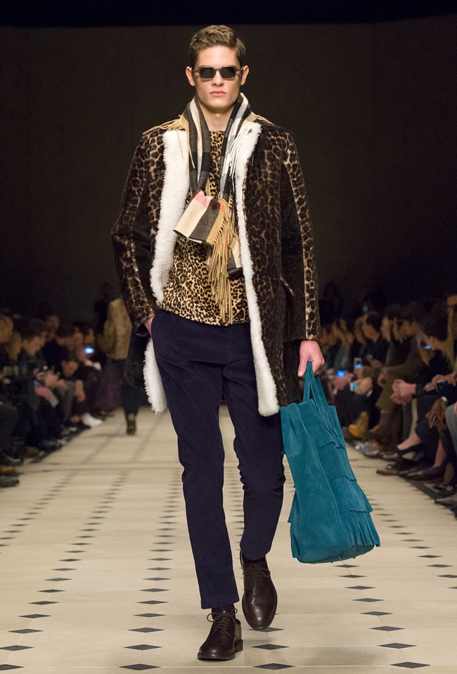 Guests at the show included the current faces of the brand s Spring    Summer 2015 campaign Jourdan Dunn and George Barnett  actors James Norton,  ... 03f79f8fd860
