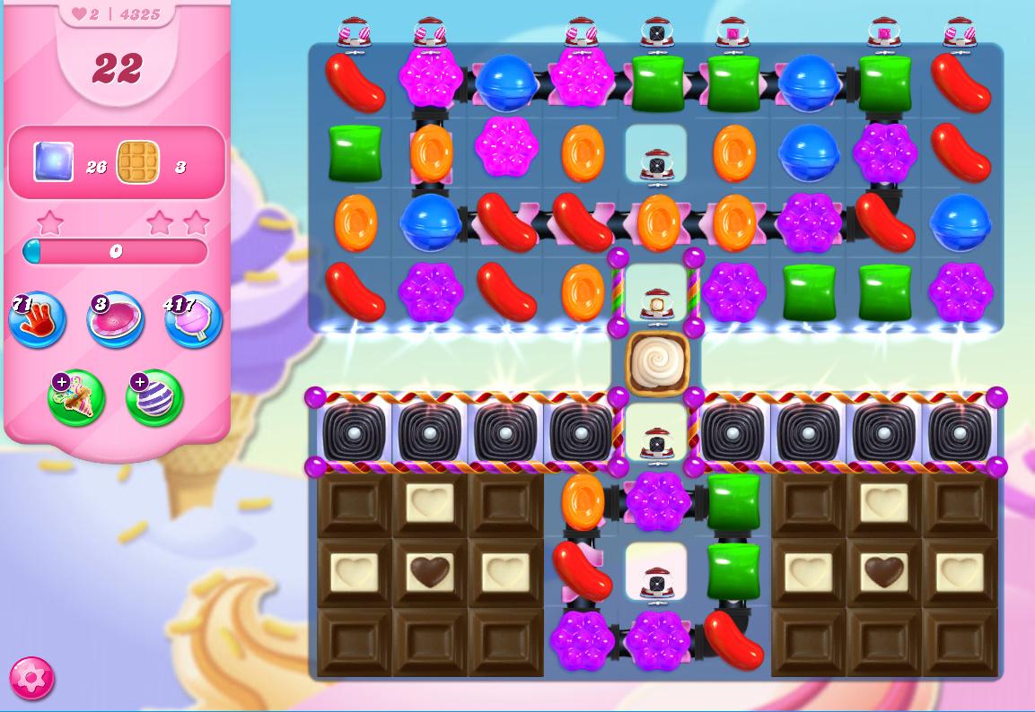 Candy Crush Saga level 4325