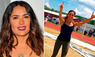 Salma Hayek cheers cousin Yvonne Trevino hayek at 2016 Rio Olympics. See what she had to say at JasonSantoro.com
