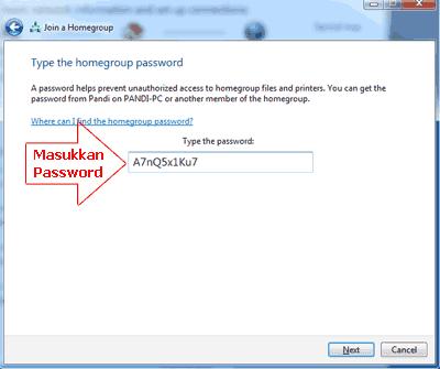 Memasukkan-password-untuk-bergabung-ke-Homegroup