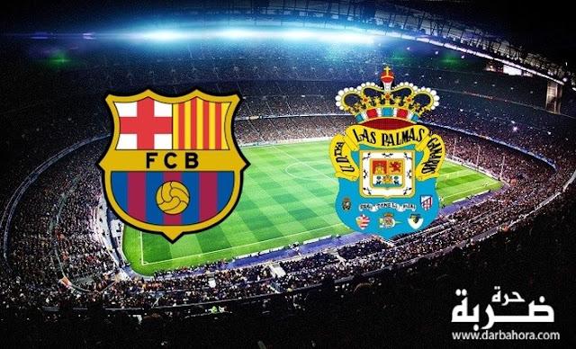 نتيجة مباراة برشلونة ولاس بالماس اليوم 14-5-2017 فوز برشلونة بنتيجة 4-1 في الدوري الاسباني