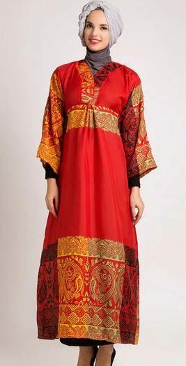 Model baju muslim kebaya untuk orang gemuk