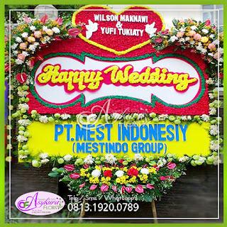 Toko Bunga Papan Pernikahan Jakarta Barat